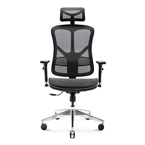 Diablo V-Basic Ergonomischer Stuhl Bürostuhl Chefsessel...