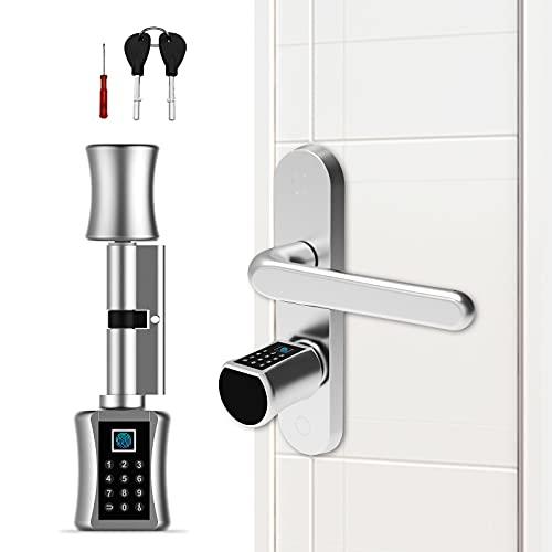 Anweller Türschloss: Elektronischer Tür-Schließzylinder...