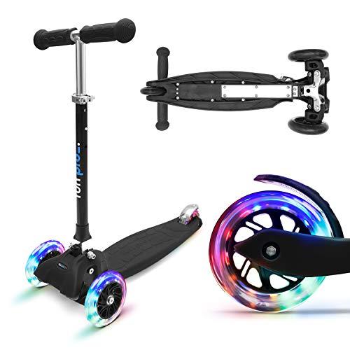 fun pro ONE - der sichere Premium Kinder Roller, LED 3 (DREI)...