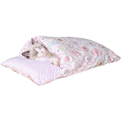 wenyujh Katzenschlafsack Geschlossen Katzenbett Waschbare...
