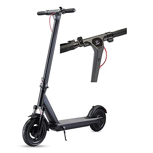 PHASFBJ Elektroroller für Erwachsene, klappbarer E-Scooter mit...