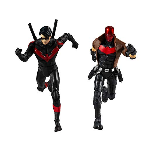 McFarlane Toys DC Multiverse Red Hood and Nightwing 7' Action...