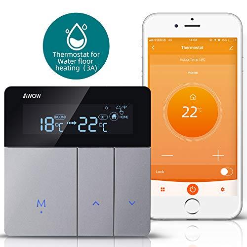 AWOW Smart Home Thermostate WiFi Temperaturregler Wandthermostat...