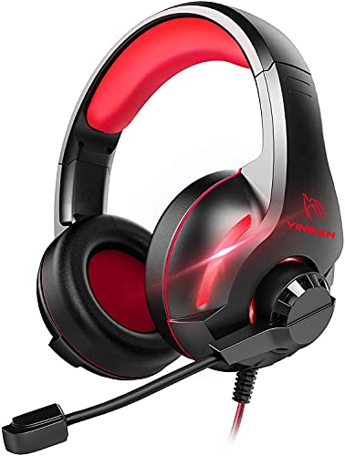 YINSAN Xbox One Headset, PS4 Gaming Headset, PC Gamer Headset mit...