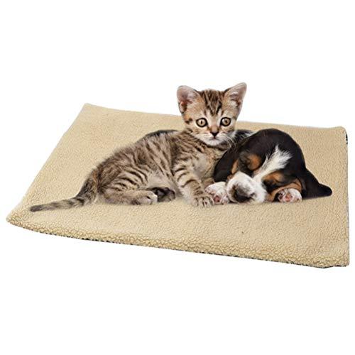 Wärmematte Selbstheizende Decke für Katzen Hunde 60x45cm...