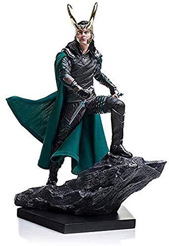 zxwd Thor Toy Modell Anime Comics Avengers Loki Film Raytheon...