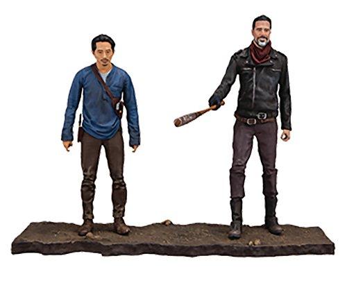 Walking Dead 14518TV Negan und Glenn Actionfigur, 12,7cm