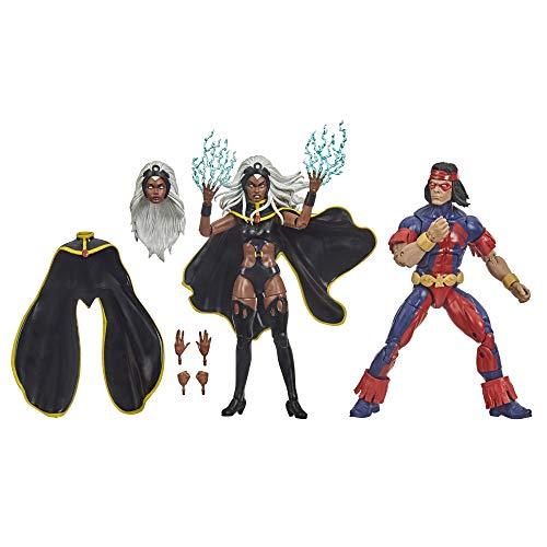 Marvel Hasbro X-Men Series 15 cm große Storm und Marvel's Thunderbird Action-Figuren, ab 4...