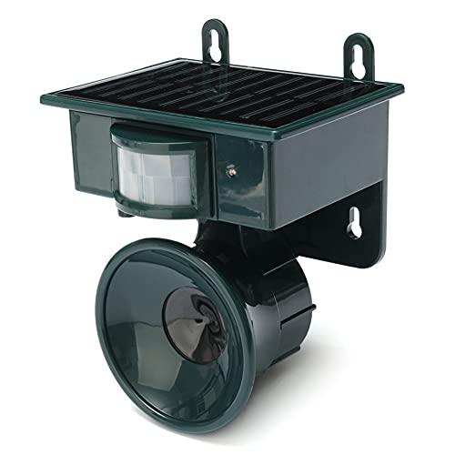 LILOVE Solar Tier Abweisend, Outdoor Solar Repeller Garten PIR...