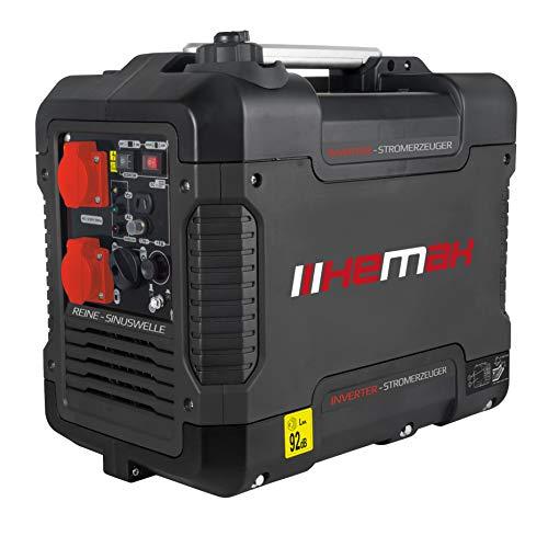 HEMAK Tragbarer Inverter Stromerzeuger mit USB 1900 Watt Optimal...