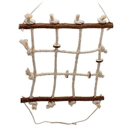 Vogelgaleria® Spielzeug für Wellensittich und Nymphensittich I...