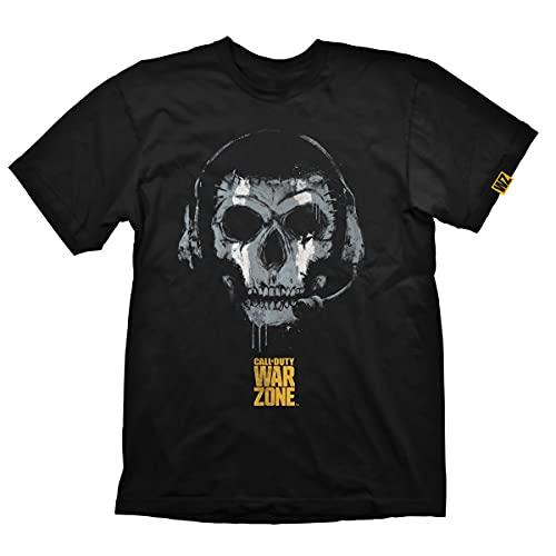 Call of Duty: Warzone T-Shirt 'Skull' Black Size M
