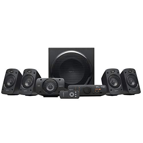 Logitech Z906 5.1 Sound System, Lautsprecher mit 1000 Watt...