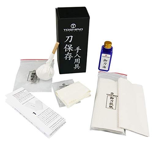 Toshiro Swords Klingenpflegeset mit Bedienungsanleitung