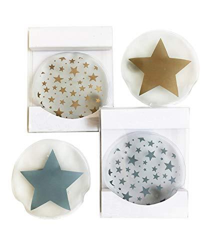 4er Set Taschenwärmer Sterne (tolles Wichtelgeschenk)...