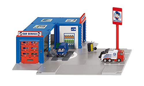siku 5507, Werkstatt 'Car Service', Kunststoff/Metall,...