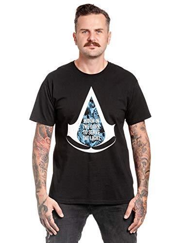 Assassin's Creed Work In The Dark Männer T-Shirt schwarz XXL...