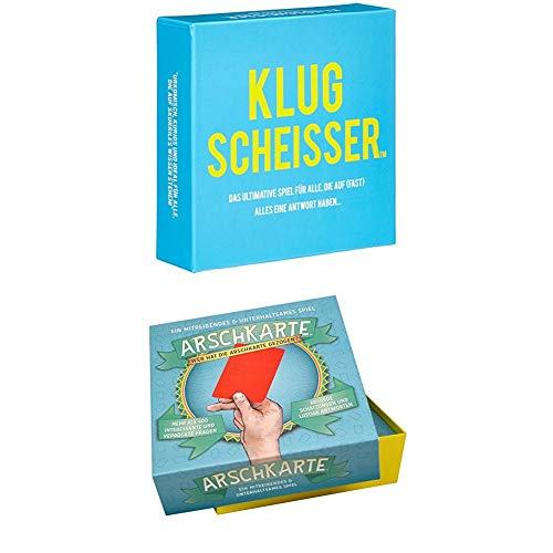 Kylskapspoesi 44001 - Klugscheisser + Kartenspiele, Wer hat die...