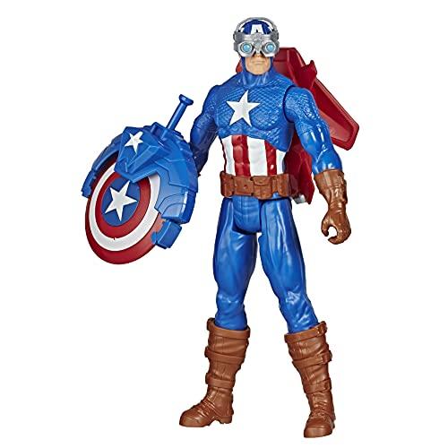 Hasbro E7374 Avengers Titan Hero Serie Blast Gear Captain...