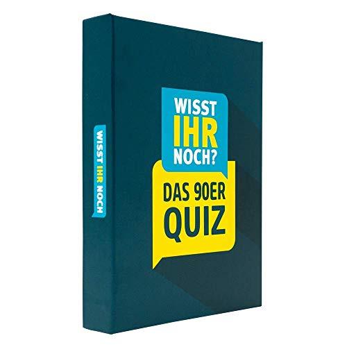 Wisst Ihr Noch? Das 90er Jahre Quiz als Kartenspiel mit 200...
