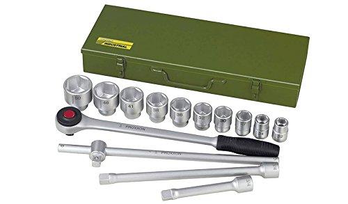 Proxxon 23300 Steckschlüsselsatz 22-50 mm Antrieb 20 mm (3/4')...