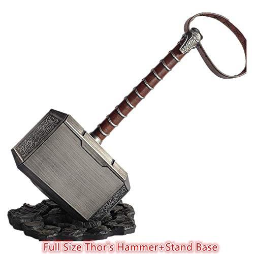 damdos Halloween Cosplay Prop 45cm 1:1 Thor's Hammer Endgame...