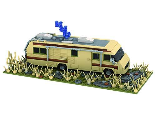 Brigamo Bausteine Auto Wohnmobil Camper, Crystal Ship