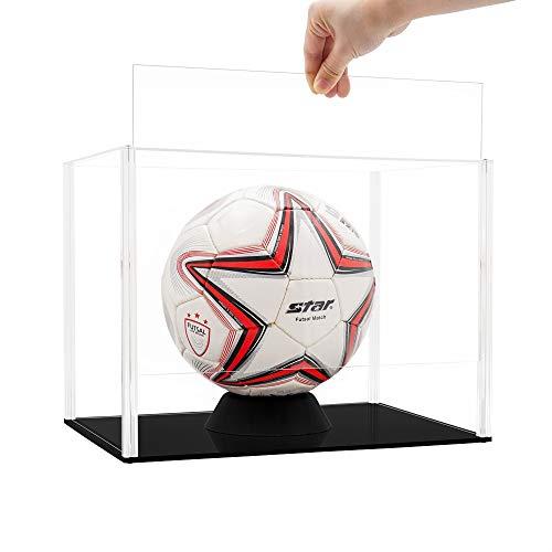 Tingacraft Acryl Vitrine 345 x 245 x 260 mm für Fußball,...