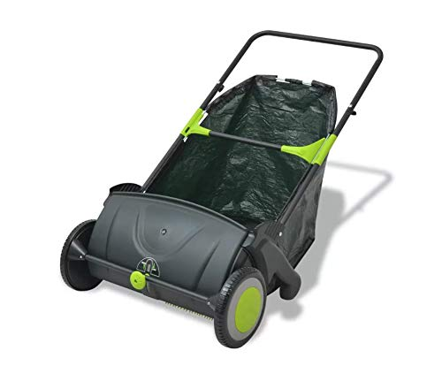 Kehrmaschine, Rasenmäher, verstellbar, für Garten, Rasen,...