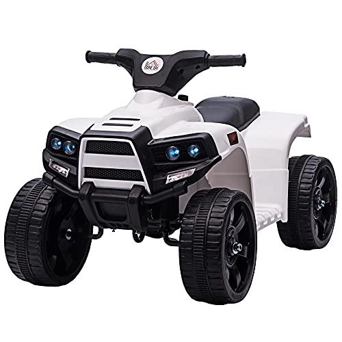 HOMCOM Mini Elektro-Quad Kinder Elektro ATV Kinderwagen für 18...