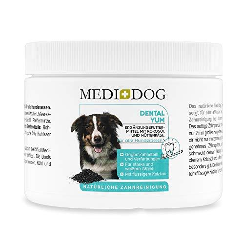 Medidog Dental YUM 300g Zahnpflege Granulat für Hunde effektiv...