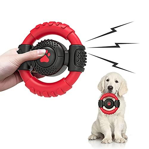 Senkora Hundespielzeug Kauspielzeug Unzerstörbar Quietschend...