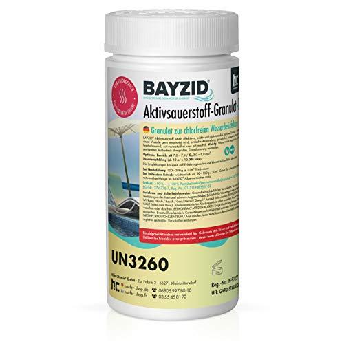 Höfer Chemie 1 kg BAYZID® Aktivsauerstoff Granulat für Pools -...