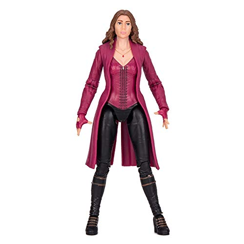 GXHLLYZY Marvel Avengers Scarlet Witch Action-Figuren, Scarlet Witch Spielzeug, 17,8 cm,...