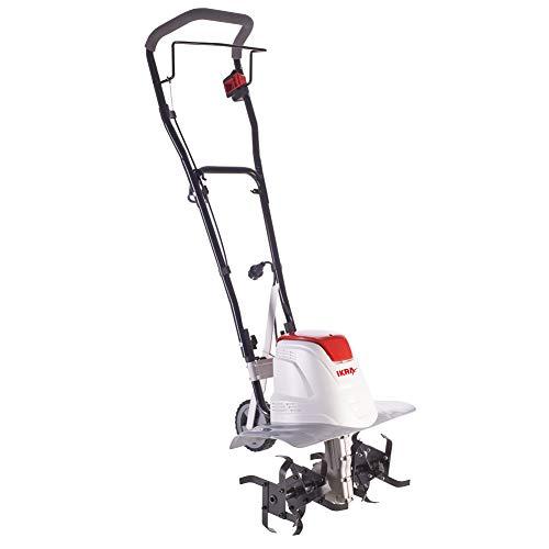IKRA 70300910 Elektro Bodenhacke Kultivator FEM1500, Flexible Arbeitsbreite 17-45cm,...