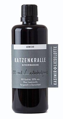 Alkoholfreie Katzenkrallentinktur, 100 ml alkoholfreie Uncaria...