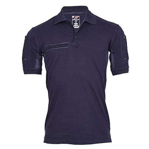 Tactical Polo-Shirt Navy blau Polizei Feuerwehr Berufs Bekleidung...