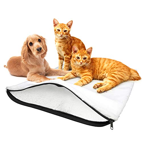 BellMietz® selbstwärmende Katzendecke [Handmade in Europa] -...