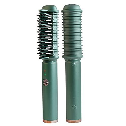 spier Bartglätter Haarglätter Bürste, 2-in-1-Glätteisen und...