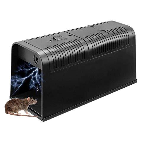 XIAXIA Elektronische Rattenfalle, Effiziente Sichere Mäusefalle...