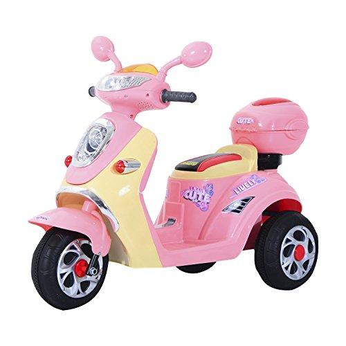 HOMCOM Elektro Kindermotorrad Elektromotorrad Kinderelektroauto...