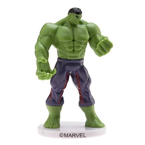 Dekora - Tortendekoration mit Hulk-Figur, 9 cm.