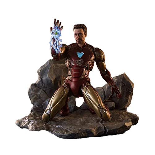 BANDAI - Iron_Man Figur, Mehrfarbig, 8DDBA027B9