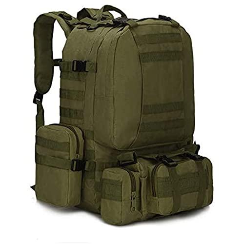 Survival Tactical Backpack, 1000 Oxford wasserdichte Kombitasche,...