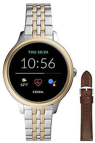 Fossil Damen Touchscreen Smartwatch 5E. Generation mit...