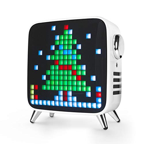 Divoom Tivoo Max 2.1 LED Bluetooth Lautsprecher mit Mehrfarbiger LED Anzeige,...