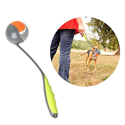 PAWISE Ballwerfer für Hunde, zum Apportieren, Tennisballwerfer