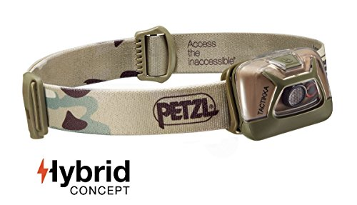 Petzl TACTIKKA Hybrid, Camo, One Size, E93ACB