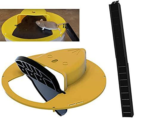 Flip N Slide Bucket Lid Mouse/rat Trap,rinnetraps - Flip N Slide...