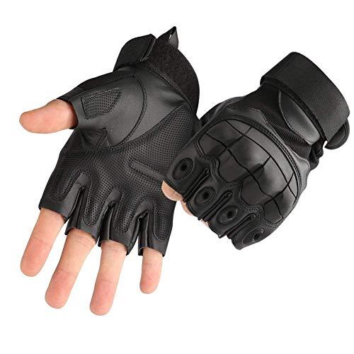 COTOP Gummi Harte Knöchel Handschuhe Fingerlose Halbfinger Sport...